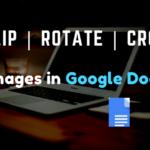 Flip Images in Google Docs