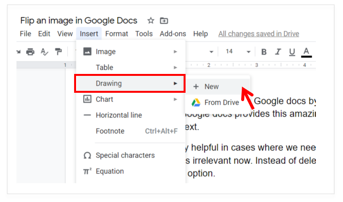 How to Add Image in Google Docs