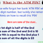Find the ATM pin puzzle